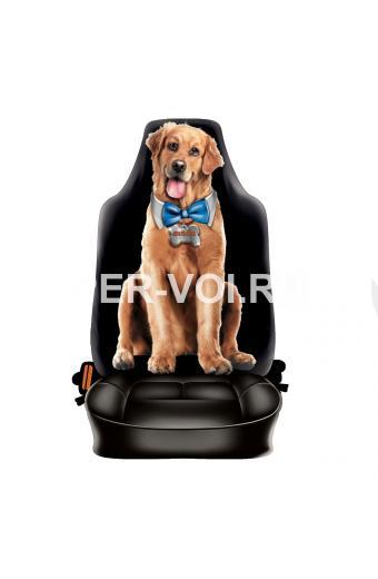 """Чехол автомобильный с прикольным изображением """"ITATI"""" Артикул: Собака"""