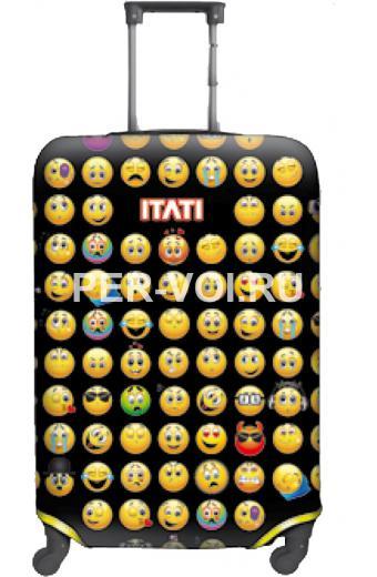 """Чехол для чемодана S """"ITATI"""" Артикул: Смайлики"""