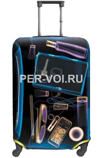 "Чехол для чемодана S, M ""ITATI"" Артикул: Рентген"