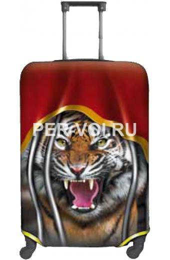 """Чехол для чемодана S """"ITATI"""" Артикул: Тигр"""