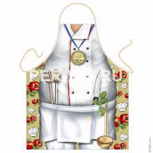 Прикольный мужской фартук для кухни № 26625