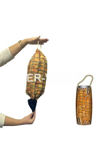 """Сумка-мешок для пакетов с ярким рисунком """"ITATI"""" Италия Артикул: Бекон"""