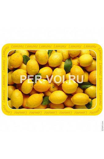 """Оригинальный придверный коврик с прикольным рисунком 48х67 """"ITATI"""" Артикул: Лимоны"""