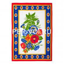 """Набор из двух хлопковых полотенец для кухни """"GRAND TEXTIL"""" Артикул: Вильма НП (цветы)"""