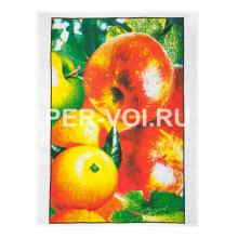 """Набор из двух хлопковых полотенец для кухни """"GRAND TEXTIL"""" Артикул: Вильма НП (фрукты)"""