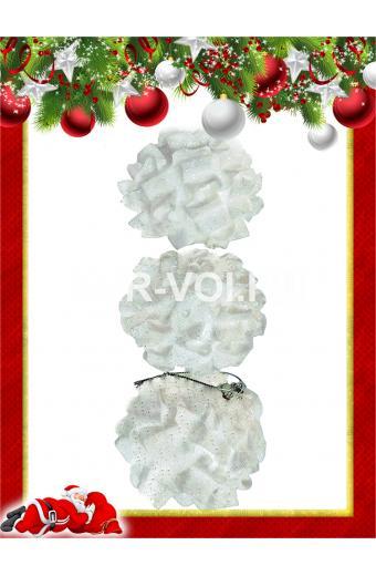 Набор пластиковых ёлочных шаров Артикул: 12087