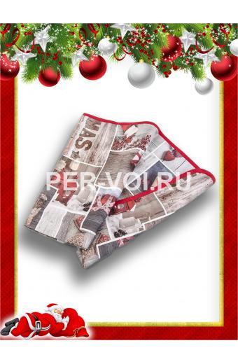 "Новогодняя гобеленовая салфетка 45х120 ""MELANGIO"" Артикул: Неве"