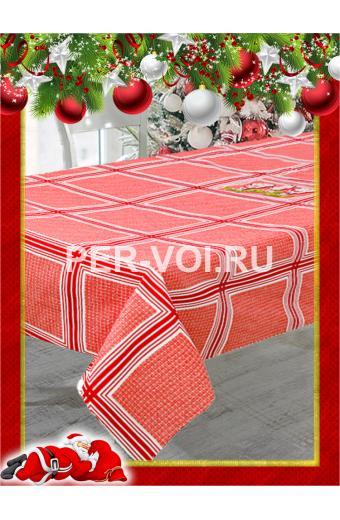 """Новогодняя скатерть с вышивкой 140х180; 140х240 """"VINGI RICAMI"""" Артикул: Джильола"""