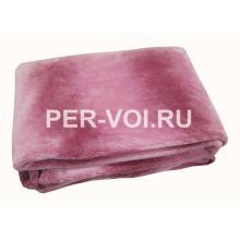 """Розовый плед микрофибра 130х160 """"GF FERRARI"""" Артикул: Арту-ф"""