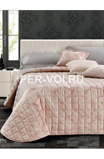 """Итальянское покрывало на двуспальную кровать 265х265 """"GF FERRARI"""" Артикул: Элен"""