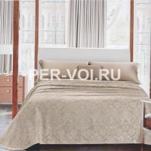 """Рифленое одеяло-покрывало на двуспальную кровать 270х270 """"GF FERRARI"""" Артикул: Кашмир"""