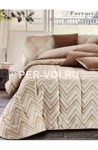 """Итальянское одеяло-покрывало на кровать 265х265 """"GF FERRARI"""" Артикул: Леа"""