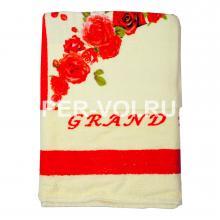 """Комплект из двух махровых полотенец """"Grand Texti"""" Артикул: Анна"""