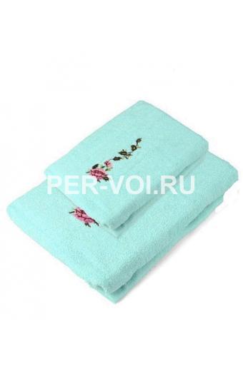 """Комплект из двух махровых полотенец """"Grand Textil"""" Артикул: Лилия"""