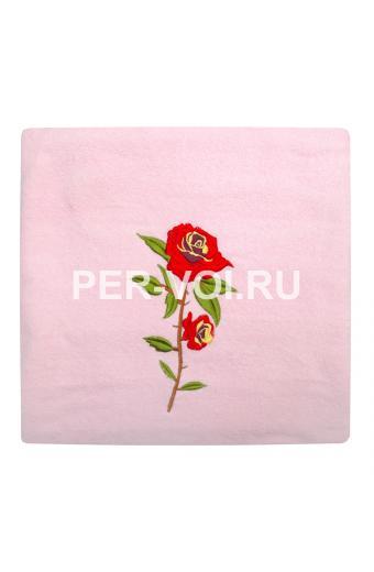 "Набор из двух махровых полотенец ""GRAND TEXTIL"" Артикул: Роза"