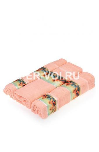 """Комплект из пяти махровых полотенец с ангелочками """"GRAND TEXTIL"""" Артикул: Рай"""