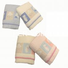 """Детское махровое полотенце в наборе 2 штуки """"VINGI RICAMI"""" Артикул: Симба"""