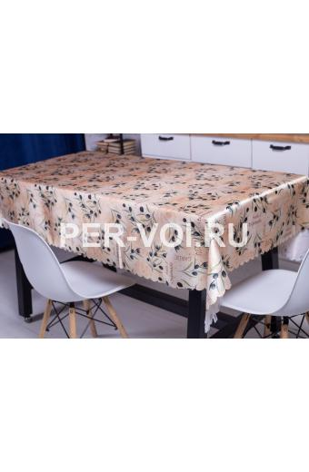 """Скатерть на стол для кухни 140х180 """"GRAND TEXTIL"""" Артикул: Оливе-2"""