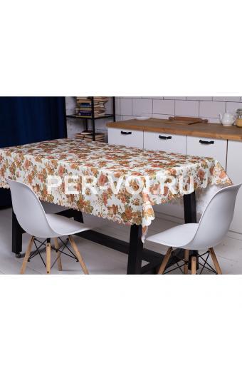 """Скатерть на стол для кухни 140х180 """"GRAND TEXTIL"""" Артикул: Фиори"""