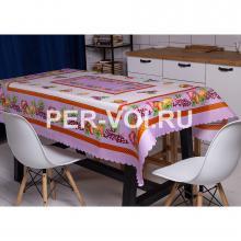 """Скатерть на стол для кухни 140х180 """"GRAND TEXTIL"""" Артикул: Фруттис"""