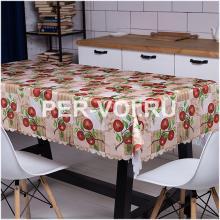 """Скатерть на стол для кухни 140х180 """"GRAND TEXTIL"""" Артикул: Мела"""