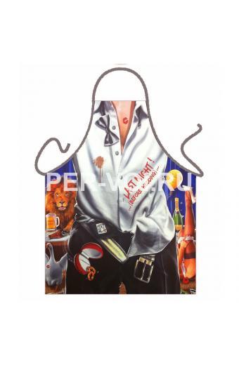 Прикольный мужской фартук для кухни № 38950